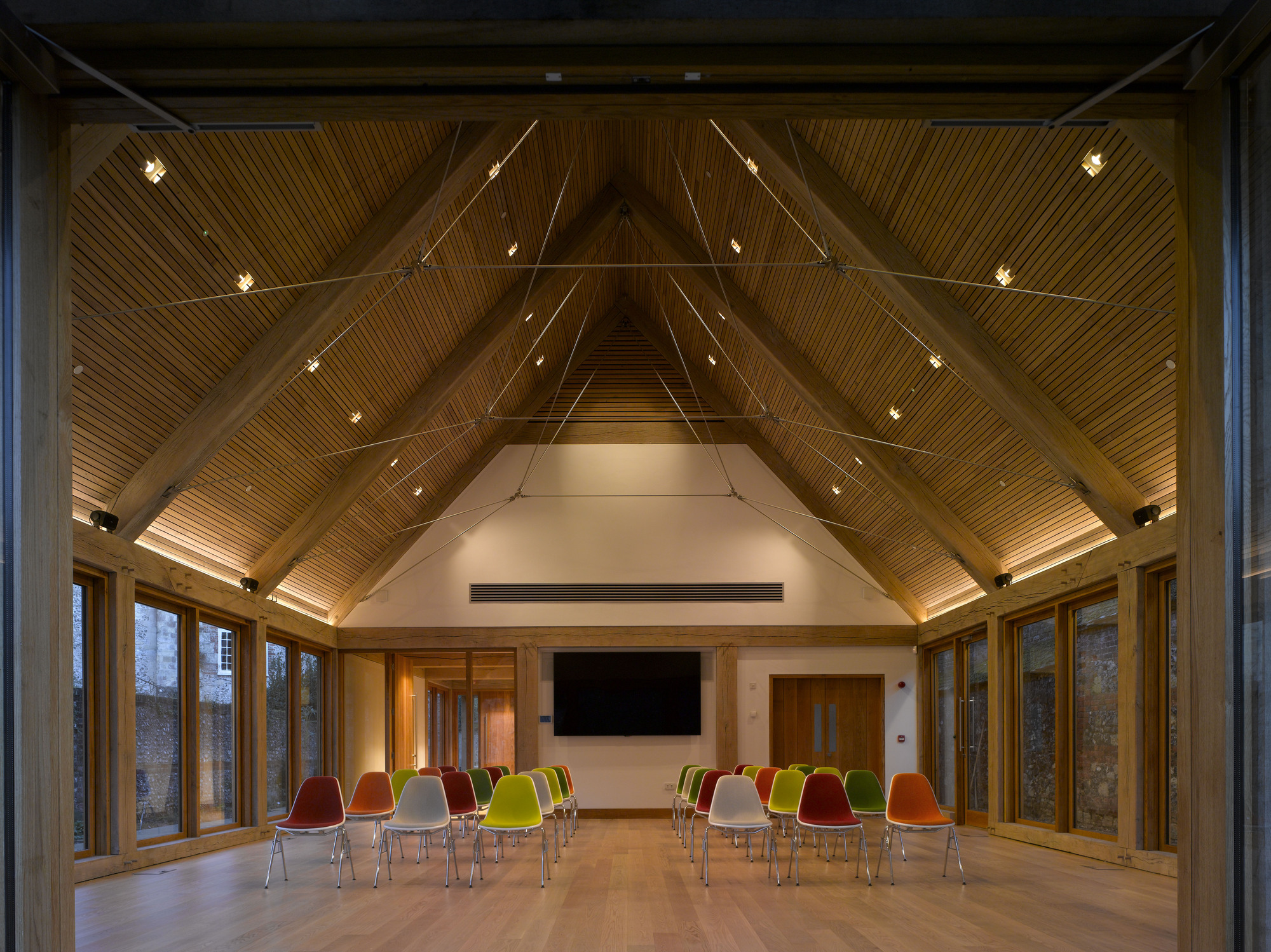 Adam architecture groundbreaking country house in hampshire - Winchester Cathedral Learning Centre Winchester Hampshire County Council Architects Image Nick Kane