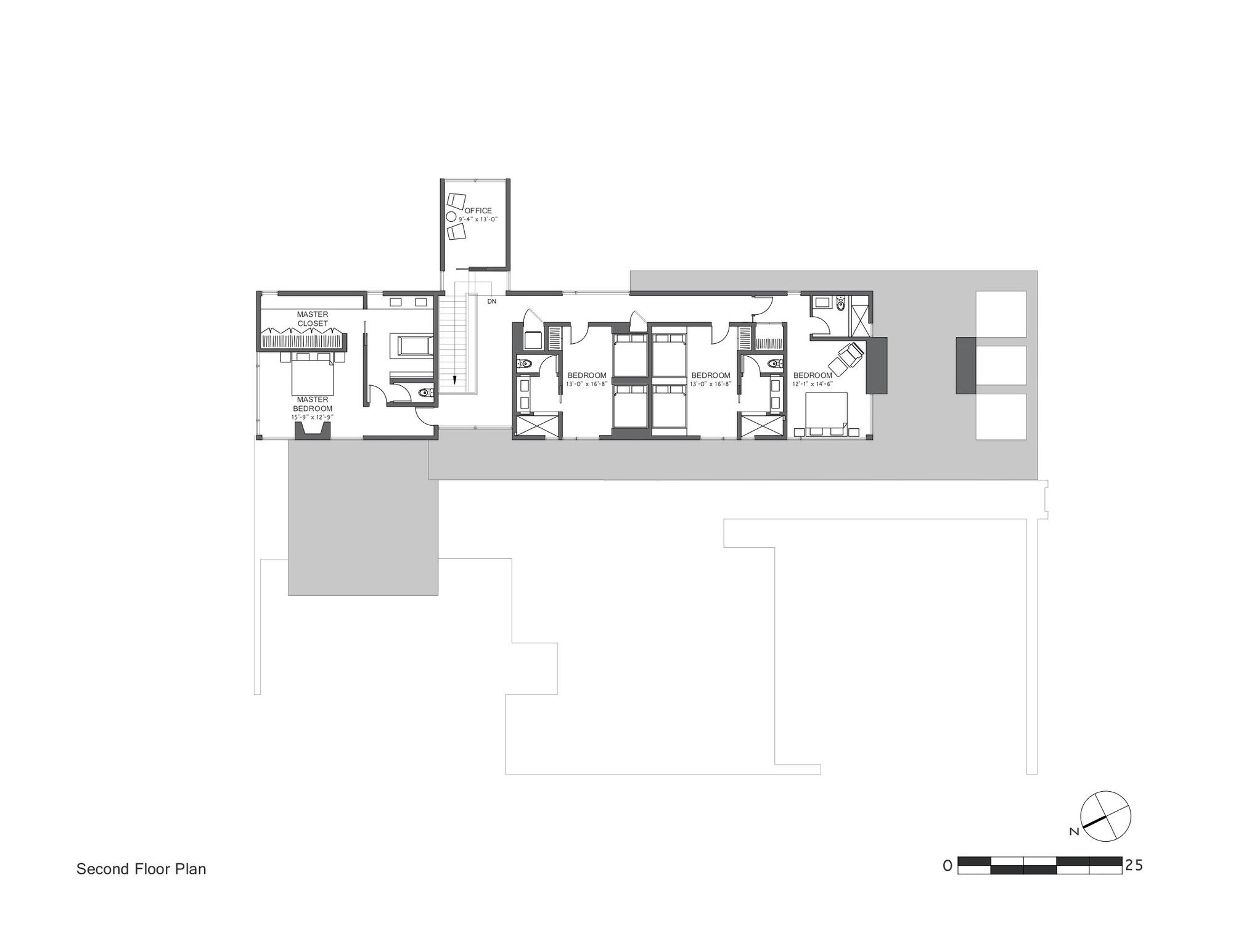 Gallery of martis camp 506 blaze makoid architecture 12 House floor plans sloping blocks