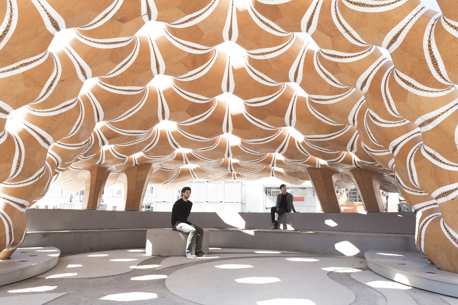 ICD-ITKE Research Pavilion 2015-16 / ICD-ITKE University of Stuttgart