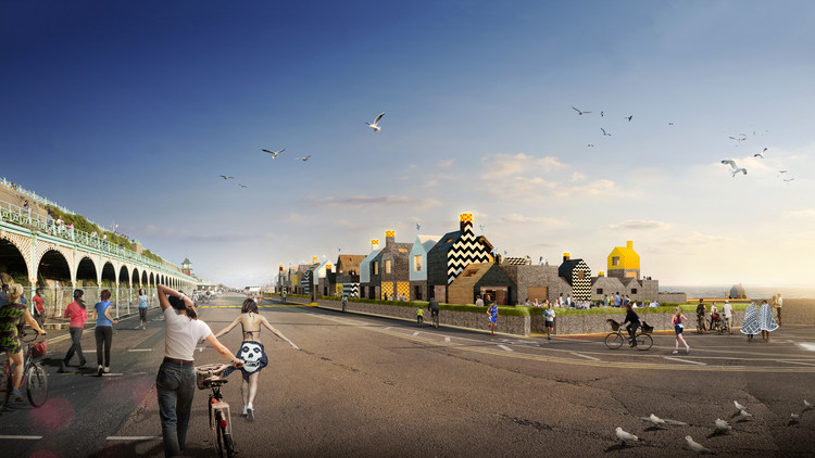 We Like Today Reveals Winning Proposal for Sea Lanes in Brighton, Courtesy of We Like Today