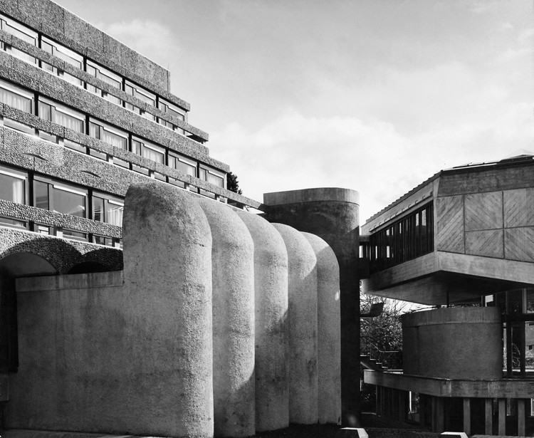 The seminary (seen here in its original state, was abandoned and left to rot in the 1980s. Image Courtesy of Glasgow School of Art via Metropolis Magazine