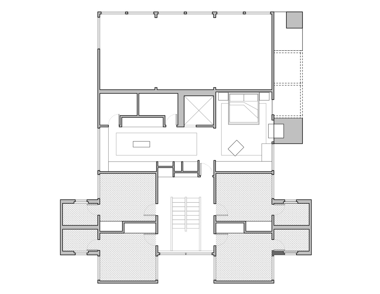 Gallery Of Louis Kahn S Korman Residence Interior