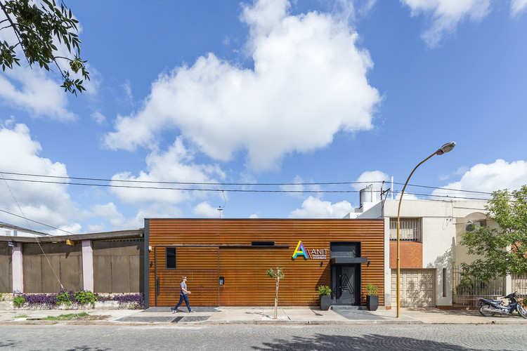 Sede Corporativa Anit / José Schreiber Arquitectos, © Ramiro Sosa