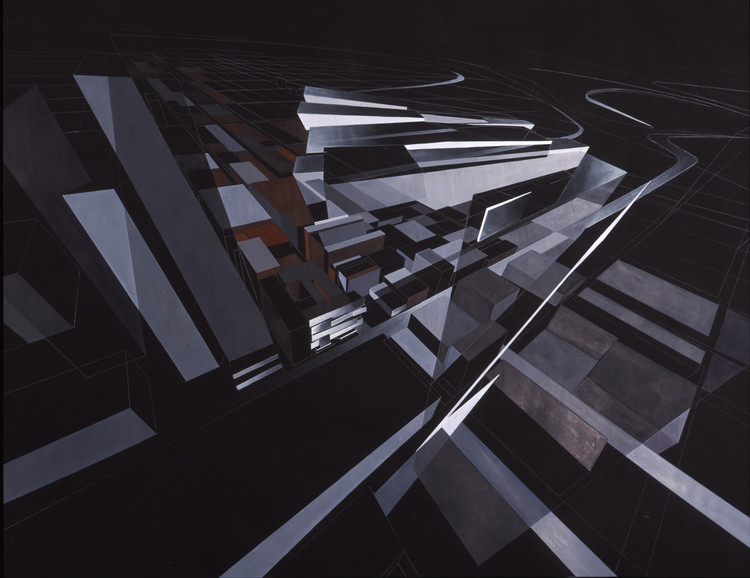 Painting. Image © Zaha Hadid Architects