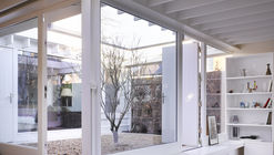 Floating Plane Hidden Garden / Mccullough Mulvin Architects