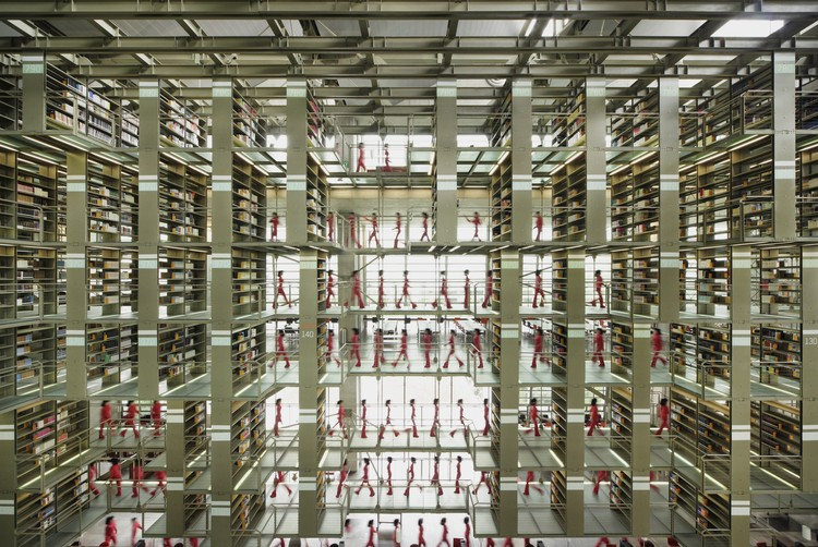 Biblioteca Jose Vasconcelos / Alberto Kalach, Cortesía de Alberto Kalach