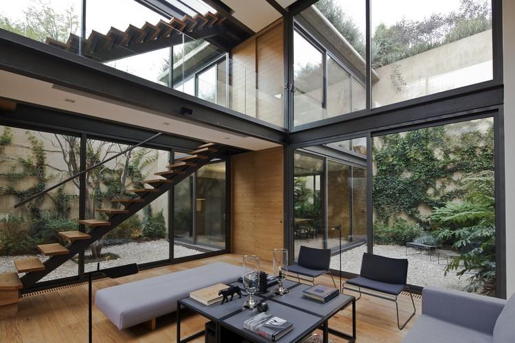 Casa De Los Cuatro Patios / Andrés Stebelski Arquitecto, © Onnis Luque