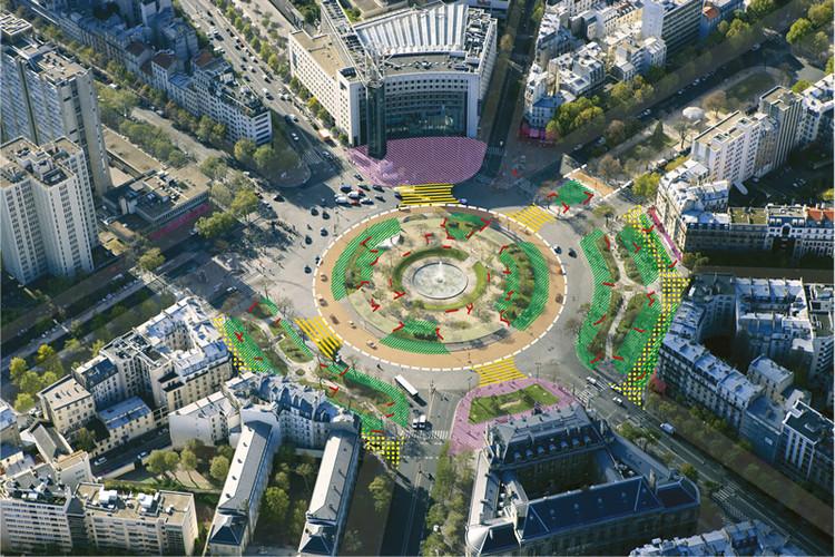 Plaza de Italia. Image © Sophie Robichon. Fuente: Ayuntamiento de París