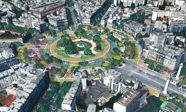 Plaza de la Nación. Image © Sophie Robichon. Fuente: Ayuntamiento de París