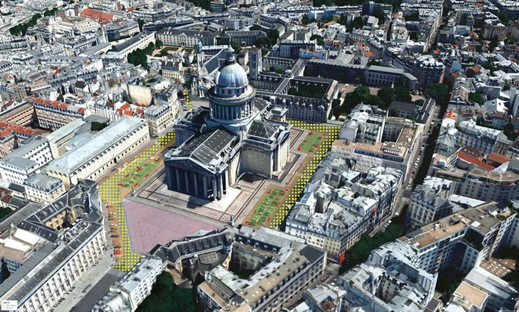Plaza del Panteón. Image © Sophie Robichon. Fuente: Ayuntamiento de París