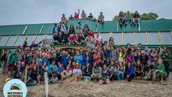 Inauguran la primer escuela sustentable de Michael Reynolds en Latinoamérica