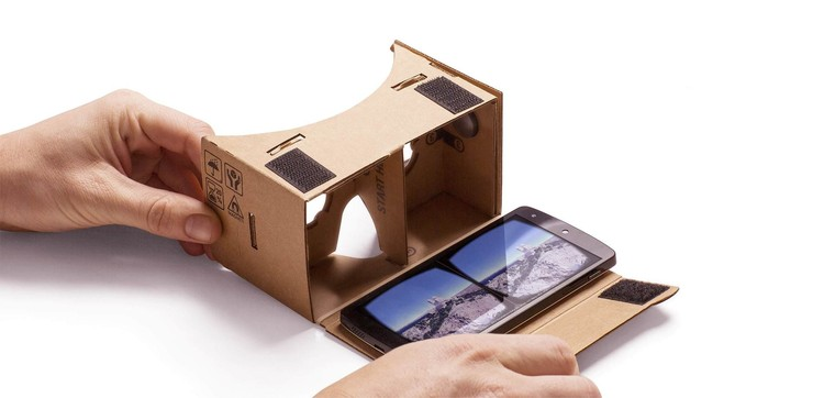Thanks to Google Cardboard, a very basic VR setup can be obtained for as little as a few dollars. Image © Google via the Google Cardboard Website
