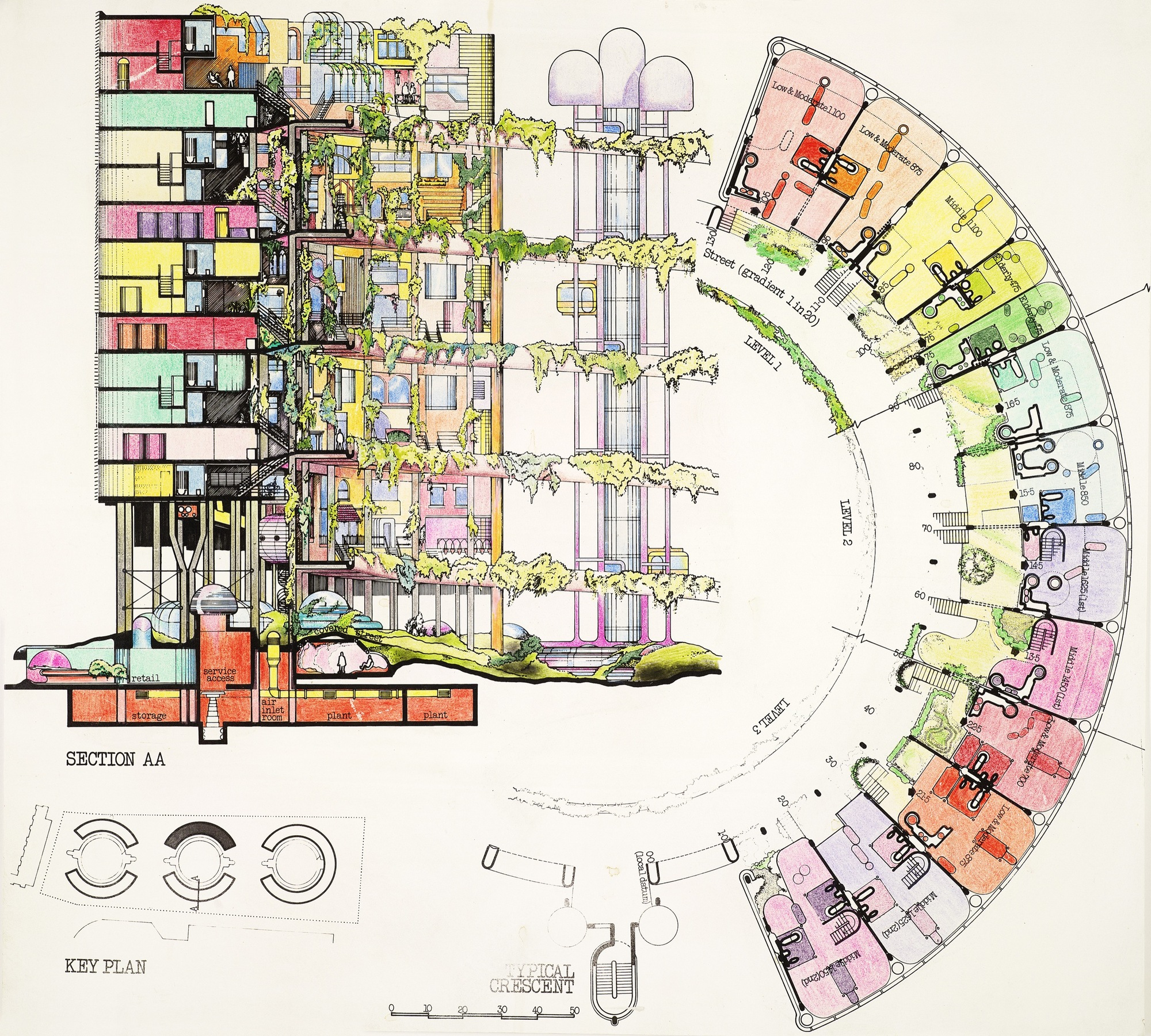 Gallery Of At Home In Britain Designing The House Of Tomorrow - New york map key