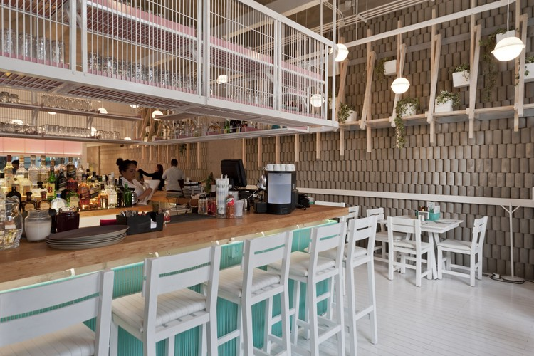 Restaurante Bellopuerto Reforma / Estudio Atemporal, © Luis Gallardo