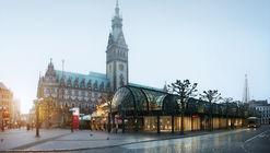 Studio Swes y Coido architects diseñarán nuevo centro de información turística en Hamburgo