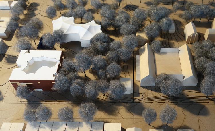 Maqueta de proyecto. Imagen cortesía de Steven Holl Architects