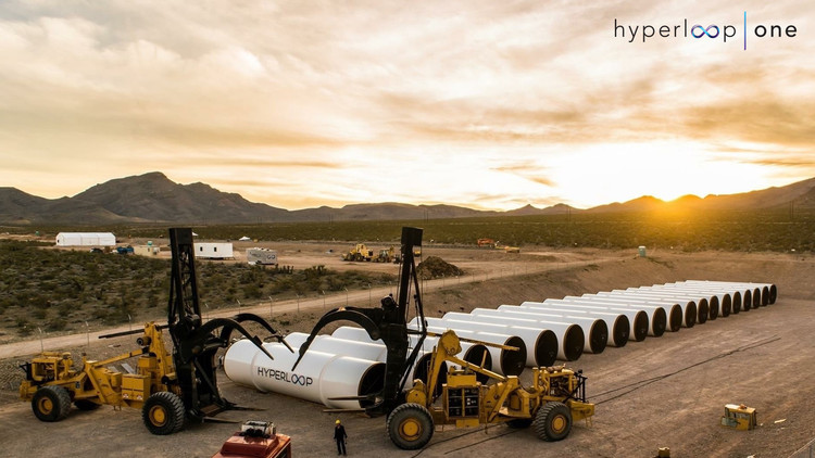 BIG, Arup, and Aecom Are Now Partners With Hyperloop One, Courtesy of Hyperloop One