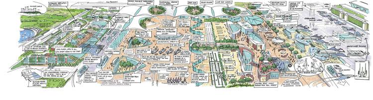 La propuesta de Benoy. Imagen cortesía de Heathrow Media Centre