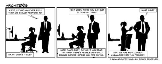 "Comic Break: ""RFQ Problems"""