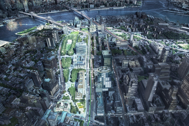 WXY Releases Plans for 50 Acre Public Space Stretch in Brooklyn, Courtesy of WXY