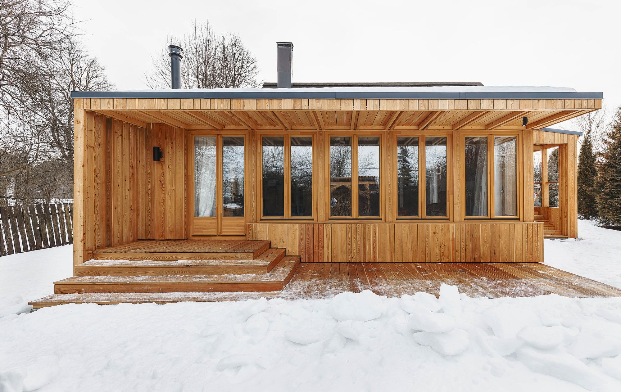 Renovación de casa de campo en Tarusa / Architectural bureau PROJECT905 - Plataforma Arquitectura