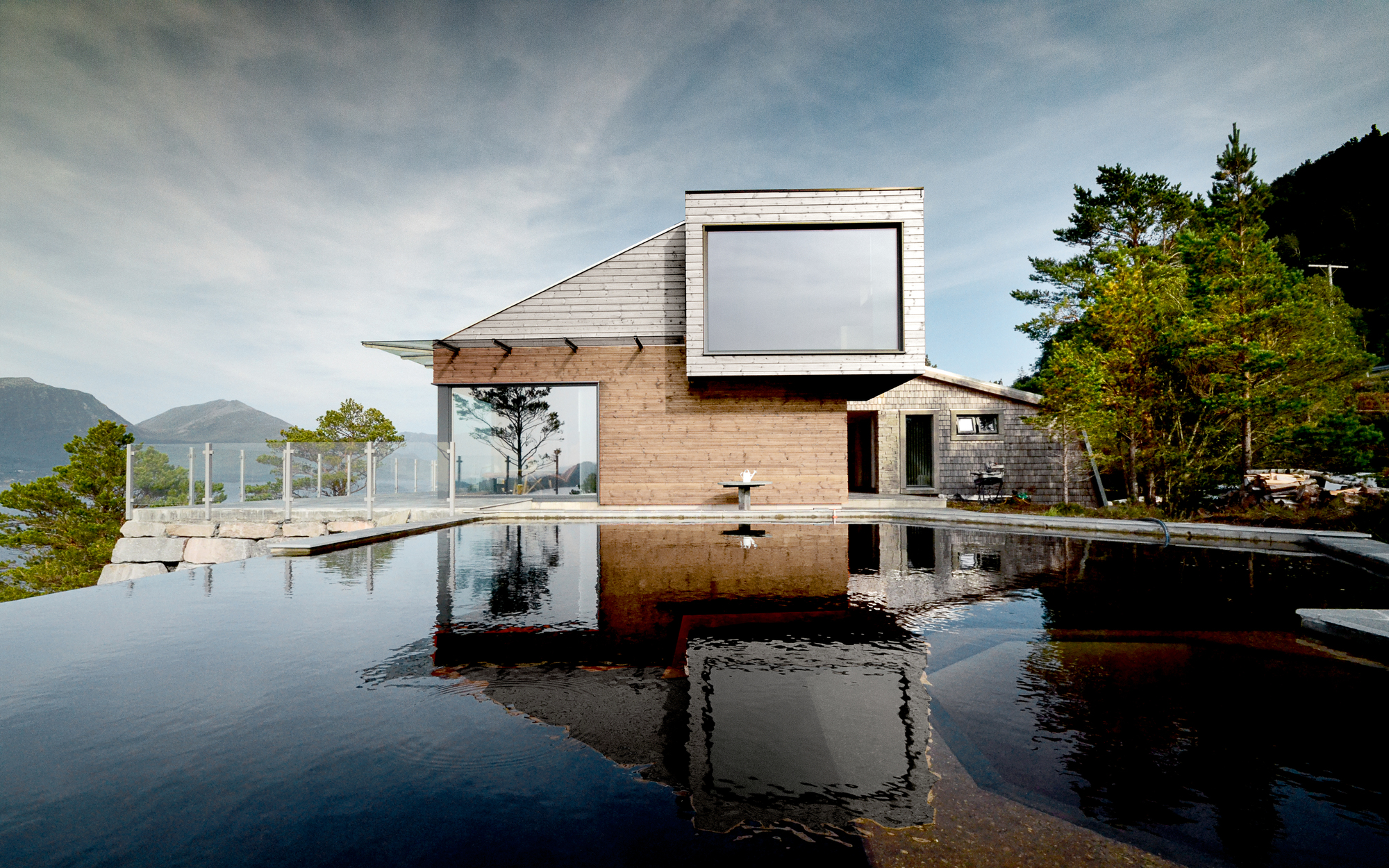 Cabin Straumsnes Rever Amp Drage Architects Archdaily