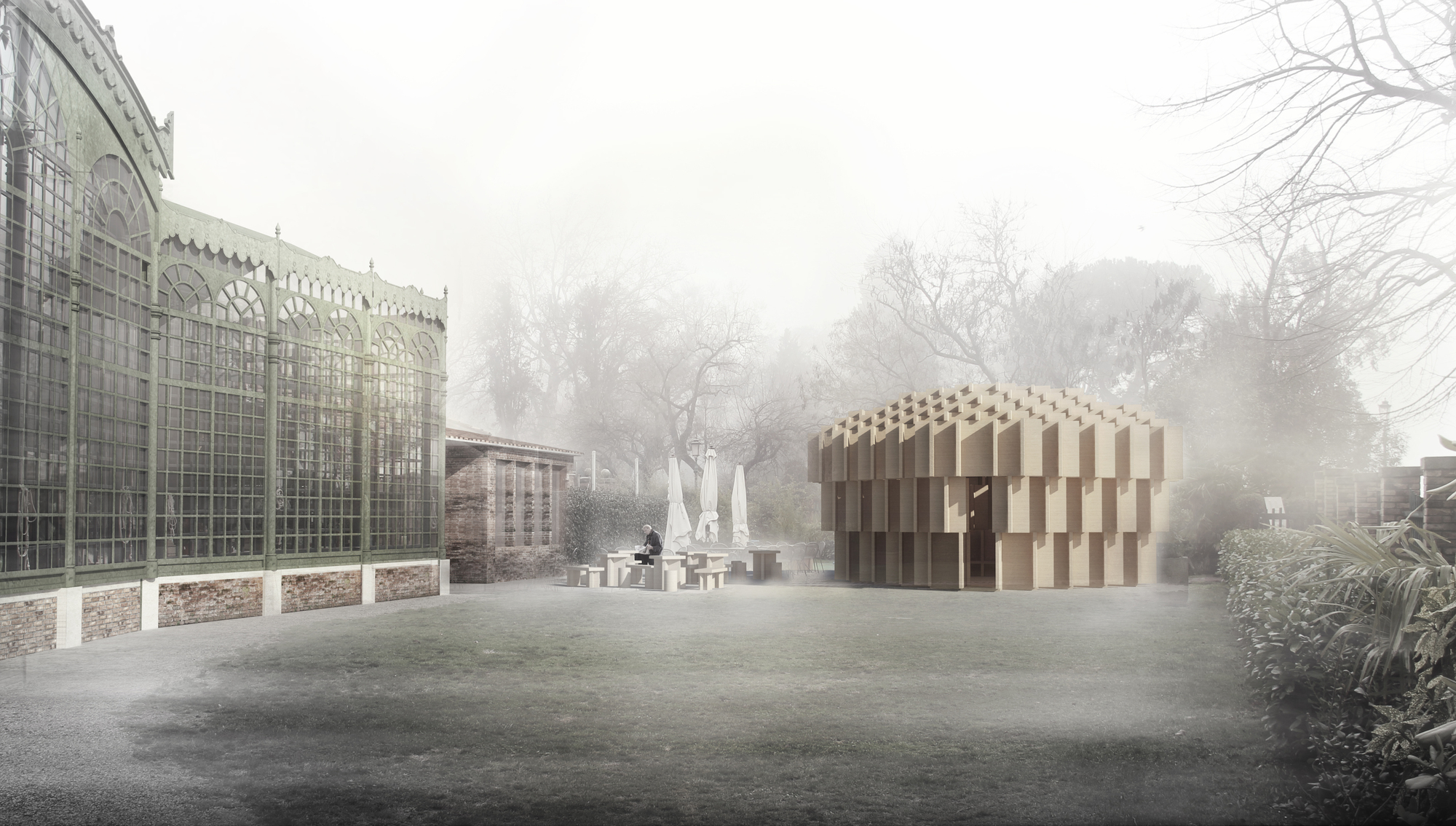 The forests of venice selected as collateral event for for Architecture venise