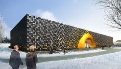LIAG Architects Design Energy Saving Art Storage Facility