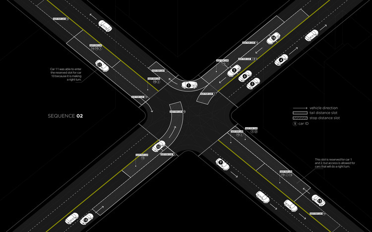 """Light Traffic"". Image © Senseable City Lab, MIT"