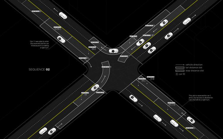 """Light Traffic"". Image © Senseable City Lab, MIT"