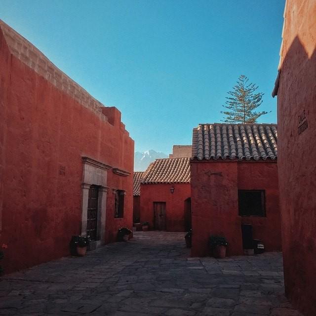 Monasterio de Santa Catalina en Arequipa. Image © Juan Manuel Parra