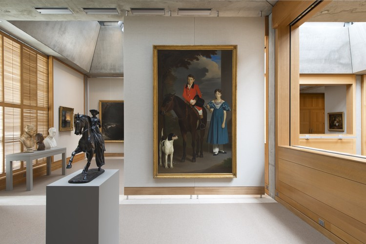 Yale Center for British Art, fourth- oor gallery following reinstallation. Image © Richard Caspole