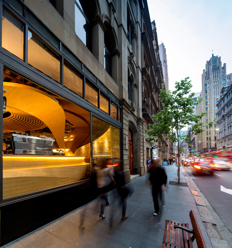 LOT 1 Café, Bar & Restaurant e / Enter Projects, © Brett Boardman