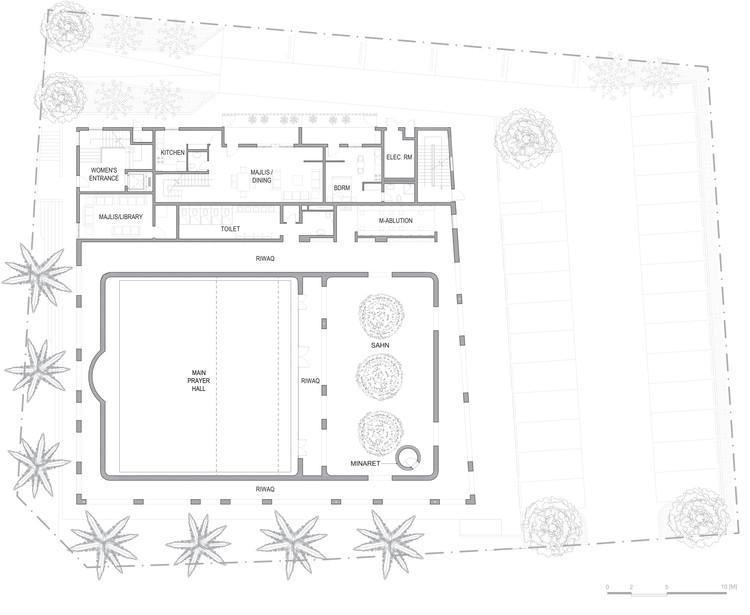 Al Warqa A Mosque Ibda Design Archdaily