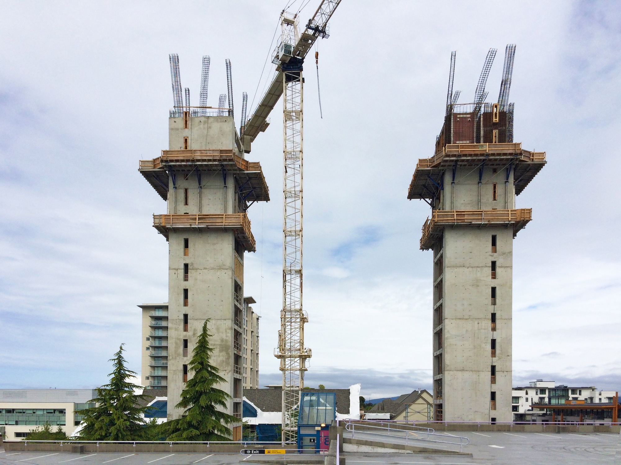 timber construction tag archdaily construction of the world s tallest timber tower is underway in vancouver courtesy of acton ostry