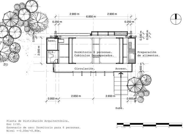 Planta de Distribución Dormitorio