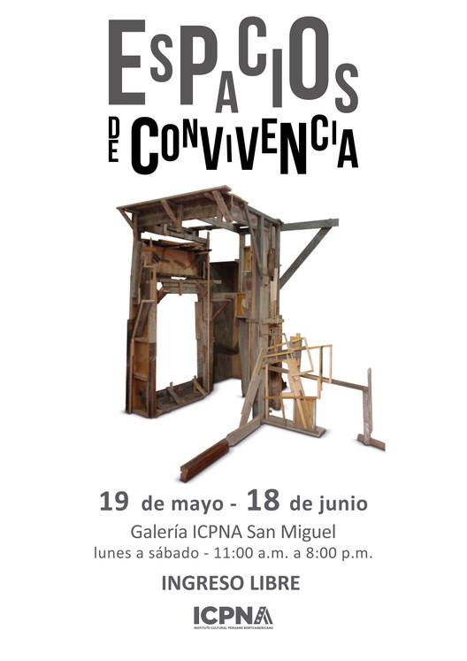 Exposición: Espacios de convivencia, de Erika Vásquez Larraín / ICPNA San Miguel, Cortesía de ICPNA