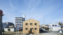 The Clinic Made of Plain Wood Base / ihrmk