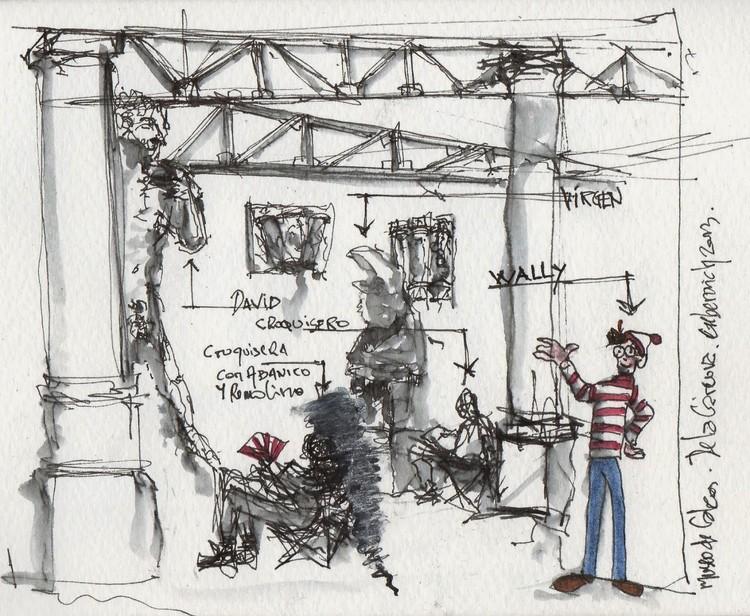 Gustavo Geberovich - Ciudad autónoma de Bs. As. Image vía Croquiseros urbanos - Bs.AS.