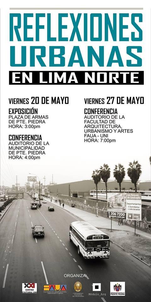 Reflexiones Urbanas en Lima Norte/Puente Piedra / FAUA-UNI, Cortesía de Módulo_ARQ