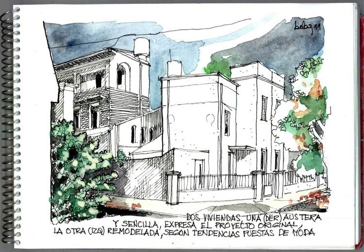 Isabel Antelo - Ciudad autónoma de Bs. As. Image vía Croquiseros urbanos - Bs.AS.