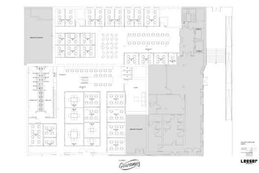 Cellar Floor Plan North