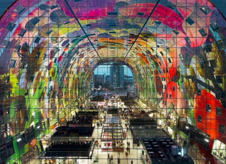 Markthal / MVRDV. Rotterdam, Países Bajos (2014) © Hufton + Crow / VIEW