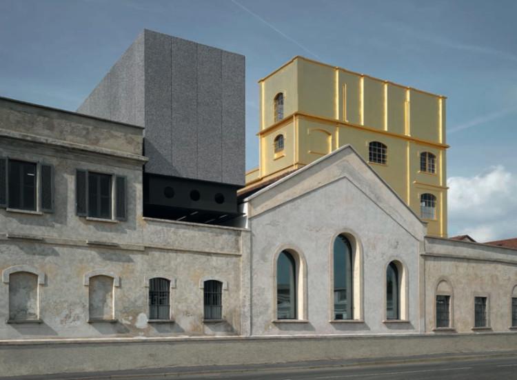 Fondazione Prada / Rem Koolhaas - OMA. Milán, Italia (2015) © Bas Princen
