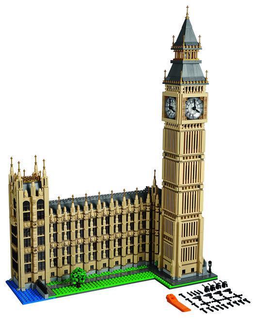 LEGO® lanza un kit de 4000 piezas para armar el 'Big Ben', Cortesía de LEGO®