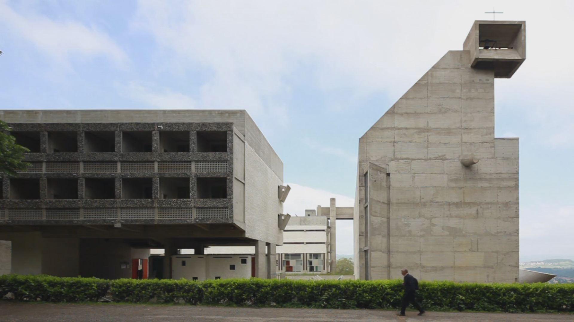 See le corbusier s convent de la tourette come to life in for Architecture le corbusier