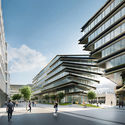 Will Zaha Hadid Architects' Latest Design Be the Right Fit for Prague? Courtesy of Zaha Hadid Architects