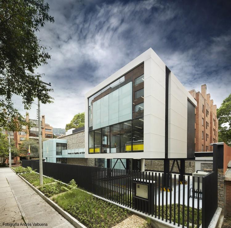 Embassy of Ecuador / Arquiteck & Asociados, © Andrés Valbuena