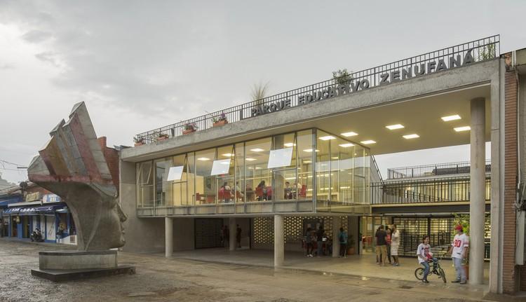 Parque Educativo Zenufaná / FP arquitectura, © Alejandro Arango