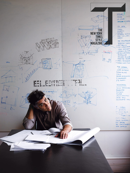 Alejandro Aravena Is Profiled by Michael Kimmelman for T Magazine, © Anthony Cotsifas